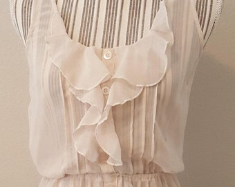 ON SALE Ruffle Blouse