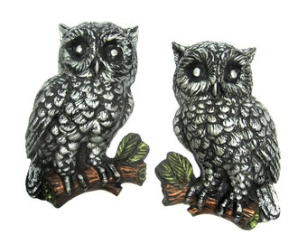 Vintage Owl Wall Hanging Mid Century Motiff Hoot from Hope Mountain