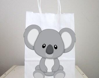 Koala Goody Bags,  Koala Favor Bags, Koala Gift Bags, Koala Birthday Favors