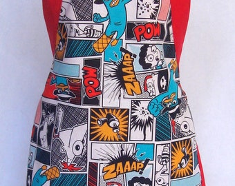 Kids Apron Phineas And Ferb