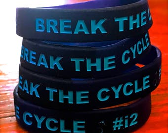 Break the Cycle! #i2 Bracelets
