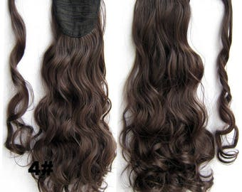 Textured Wavy Ponytail Extensions