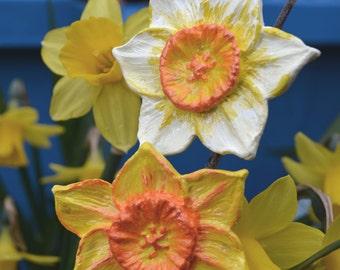 Daffodil Brooch