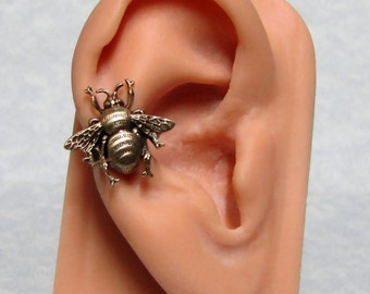 Steampunk Bee Insect Ear Cuff