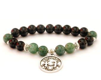 bracelet perle gemini