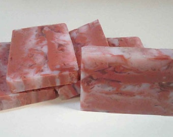 Maple Bacon Soap - Goats Milk and Glycerin swirl