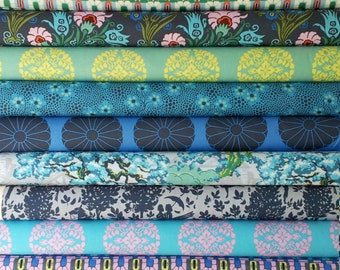 Cameo Amy Butler fabric bundle -  Enchanted palette - Fat quarter set of 11