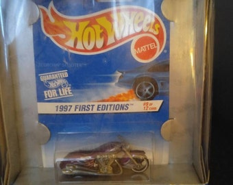 1997 First Editions - Scorckin' Scooter Hot Wheels 30 Years