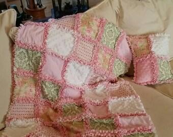 Batman Nap Blanket Toddler Or Crib Blanket Rag Quilt