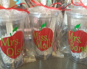 Personalized Teachers Cups