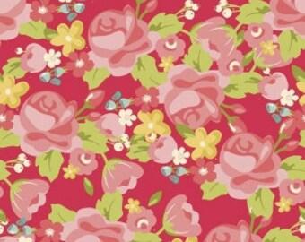 "Riley Blake Designs ""Hello Gorgeous"" by My Mind's Eye, Gorgeous Main PINK, yard"