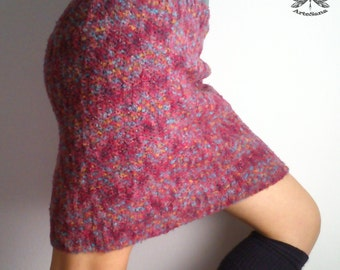 CROCHET Wool Blend SKIRT