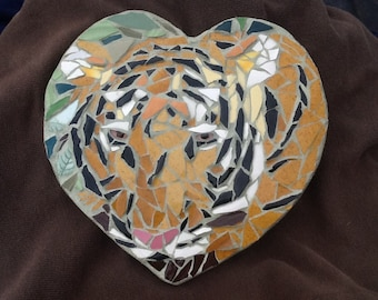 Tiger mosaic Wall decor