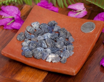 Natural Iolite Raw Crystal Stone
