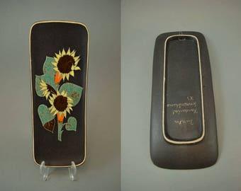 Vintage wall plate / Ruscha / 740 | West Germany | WGP | 60s