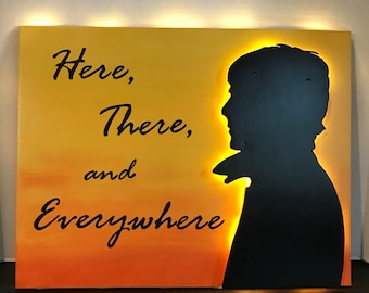 Paul McCartney - Here, There, and Everywhere Sign