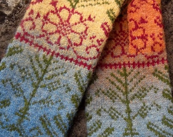 Baltic, Hand made mittens, 100% wool