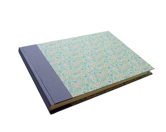 XL Wedding Photo Album soft purple mint green