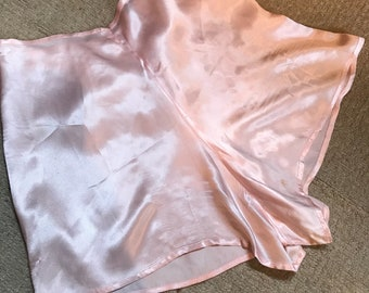 1940's pale pink silk Tap panties french knickers size small/medium