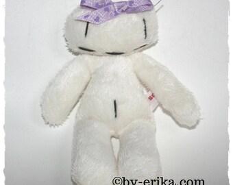 Smorglub doudoudoux bow purple heart