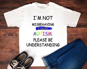 Autism understanding shirt