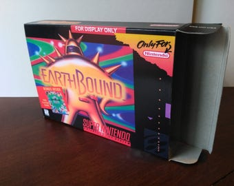 EarthBound (For Display Only Variant) Super Nintendo SNES Reproduction Box! Best Repros in the world!