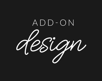 ADD-ON: Custom Design for Stamp