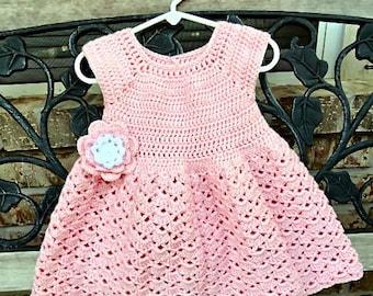 Crochet Pattern, Snap Dragon Toddler Dress