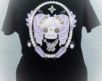 The Shoujo Unlife Graphic T Shirt Kawaii Fairy Kei Pastel Goth