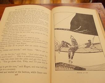 hb 1st ed but 12th imp 1943 we didn't mean to go to sea arthur ransome