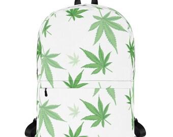 Big Leaves Mary Jane Backpack