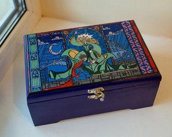 Beauty and the Beast treasure box
