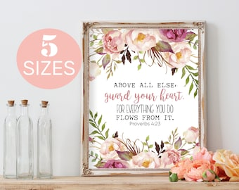 Baby Girl Nursery Wall Art Prints Nursery Prints Kids Wall Art Baby Gift Baby Girl Kids Room Decor, Nursery Decor, Girl Nursery Decor, Boho
