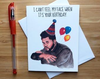Rap Music Star Birthday Card, Hip Hop Birthday Gift, Toronto Music, Rap Music, Happy Birthday Card, Best Friend Birthday, Toronto Canada
