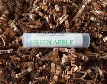 Green Apple Lip Balm - Flavored Lip Balm - Moisturizer - Skin Care - Handmade