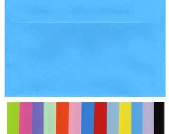 C5 Envelopes 20 Pieces Smooth Flat Colours  Large A5 Size  23 x 16.2 cm  Coloured 100gsm stock Weddings Engagements