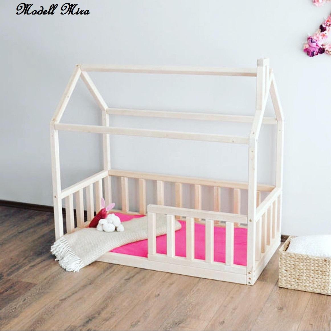 montessori bett Babybett Hausbett Kinderbett Spielbett Modell