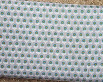 Sale!! Tulip March Smoke Grey Fabric by Joel Dewberry Modernist Collection Fabric by the Yard