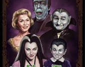 The Munsters Family - A3 ...