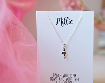 Sterling silver Tiny Dancer necklace