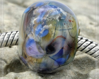 glass stone, Collection Original Nemo Glass Bead,  SRA 12 x 14.5 mm OOAK