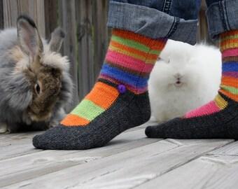 Knitting Pattern - Shoes + Socks = True