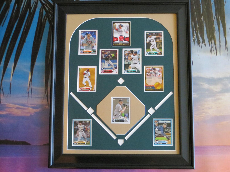 Baseball Decor Custom Gift For Dad Baseball Field Trading