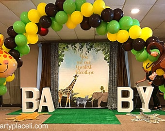 Large Freestanding Foam BABY Letters perfect for baby shower, photo prop, vip table
