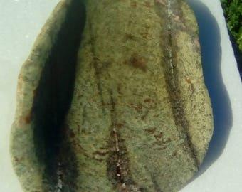 Green and brown Sandstone Platter