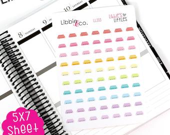 LL203 Libbie's Littles Air Filter Stickers! Vinyl Planner Sticker, Air Conditioner AC Maintenance, Reminder Sticker, Honey Do List, Chores