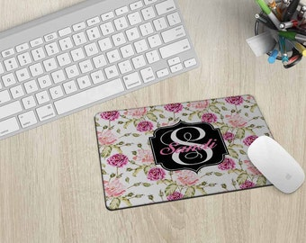 Personalized Mouse Pad, Mouse mat, Mousepad, Custom Mouse Pad, Monogram Mouse pad, Pad, Monogram Mousepad, Mouse Pad, Computer mouse pad #8