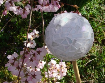 Mosaic garden ball set of three