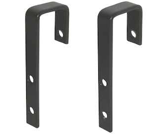"1"" Bunk Bed Ladder Hooks - 2 Pack with Screws"