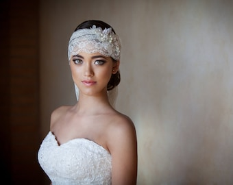 Classic and Elegant Bridal Headpiece